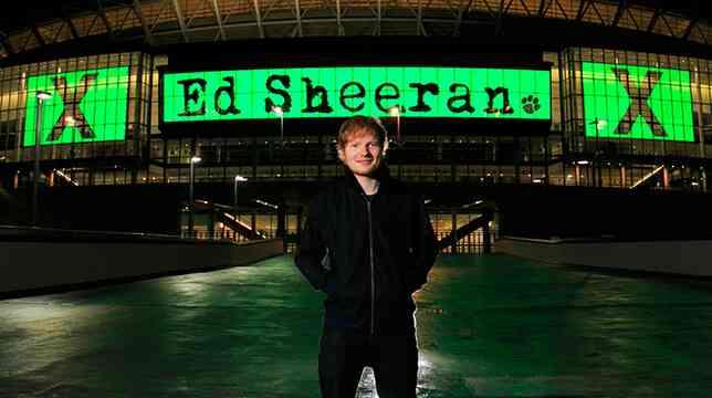 Ed Sheeran çalıntı şarkı için 20 milyon dolar ödeyecek. » Radyo Beykent