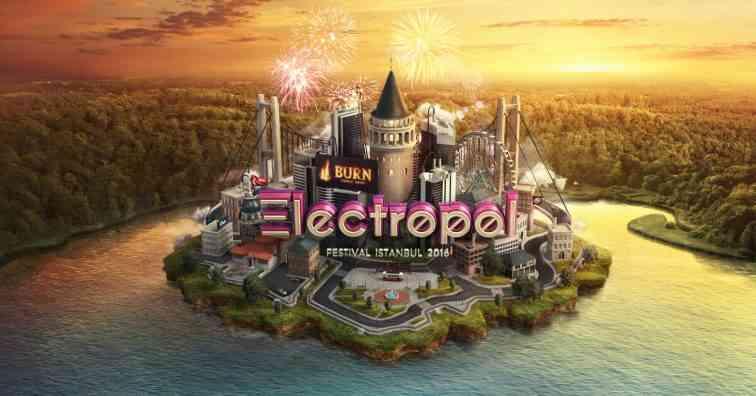 Burn Electropol Festival 2017 Özlem bu sene her zamankinden daha erken sonlanıyor ve dans müziğin büyülü metropolü Electropol, Burn Energy Drink