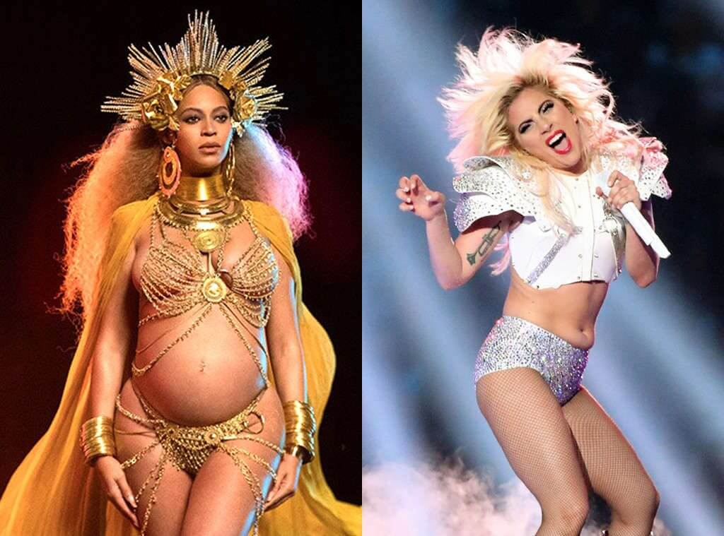 Lady GaGa performansı ile taçlanan Coachella 2017'de ikizlere hamile olduğu için sahne alması doktoru tarafından yasaklanan Beyoncé yerini Lady GaGa'ya