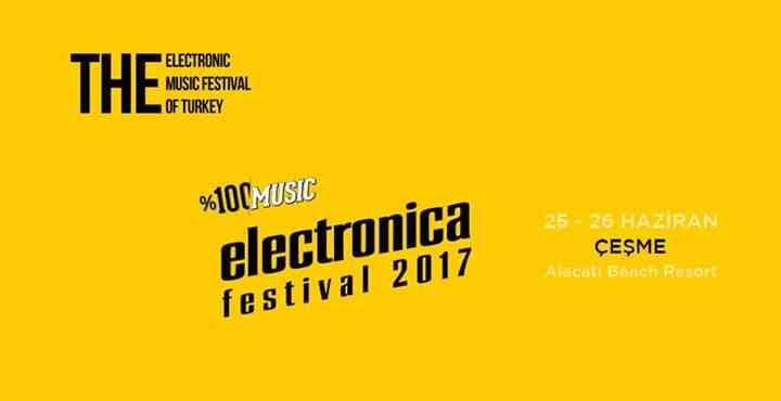 %100 Music: Electronica Festival Çeşme 2017