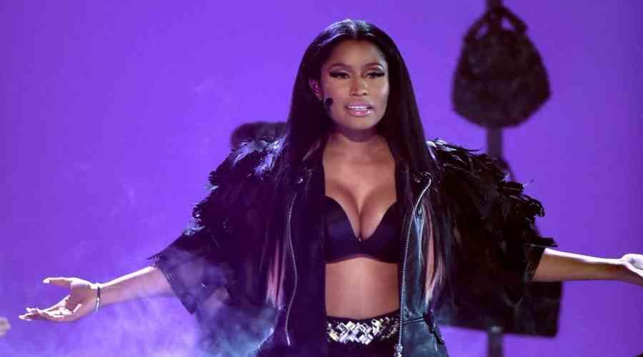 Kırmızı halıda dikkat çeken isim: Nicki Minaj