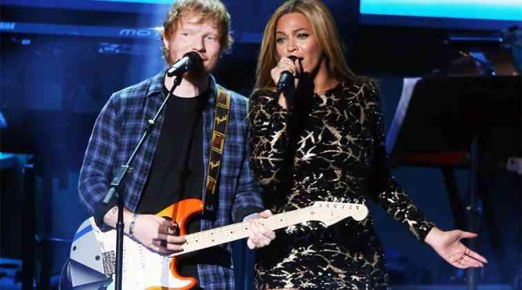 Ed Sheeran ve Beyonce ile zirvede.
