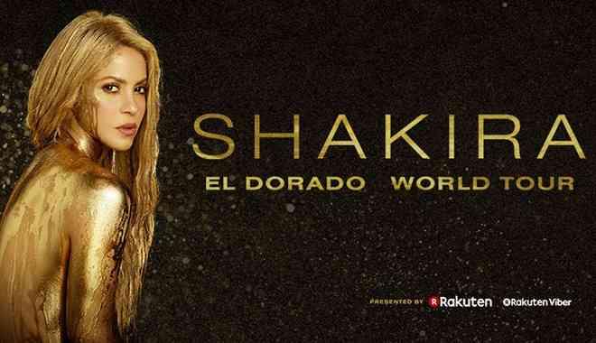 Shakira - Vodafone Park Konseri