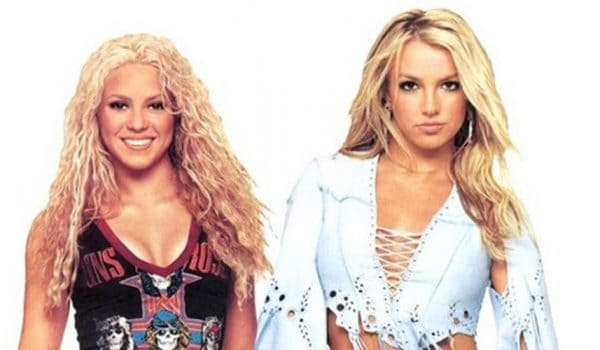 Shakira'dan Britney Spears'e övgü dolu mesaj.