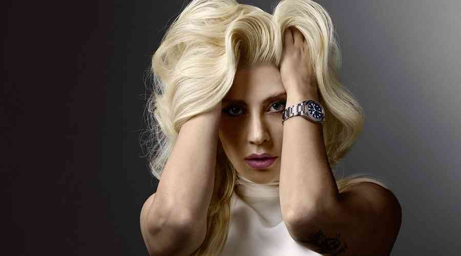 Lady Gaga'nın milyonluk fotoğrafı.