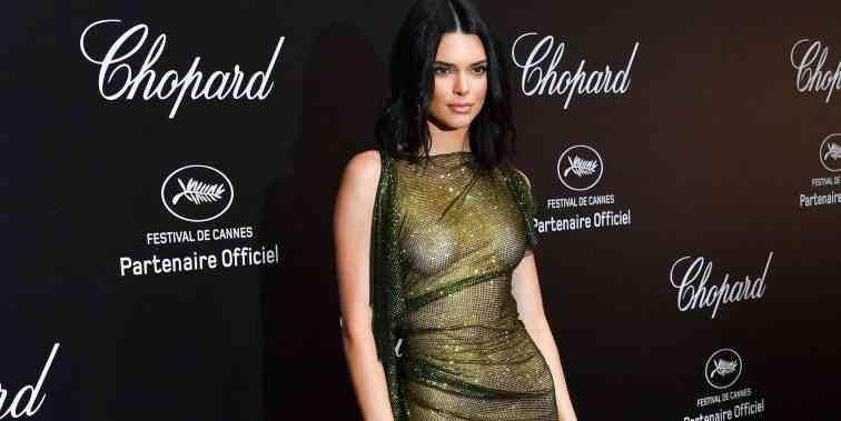 Kendall Jenner 71. Cannes Film Festivalinde Sınırları Zorladı.
