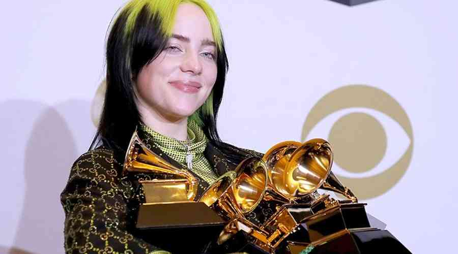 Grammy'ye Billie Eilish rüzgarı.