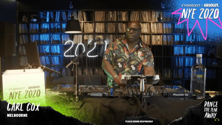 Carl Cox NYD DJ Set - NYE 2021 Global Celebration